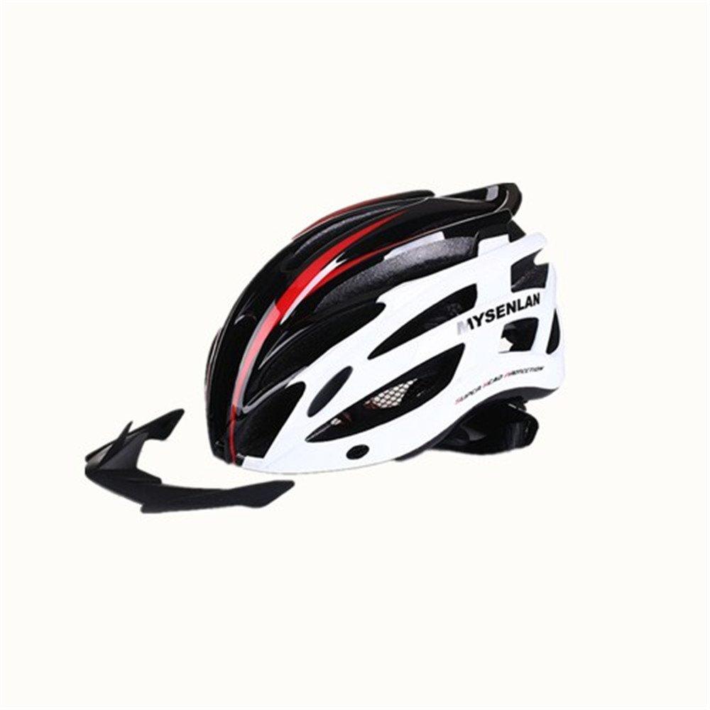 自転車用ヘルメット超軽量 自転車乗りヘルメット、自転車安全ヘルメット、屋外サイクリング愛好家に適しています。 オフロード自転車用保護帽   B07PF2CBYD