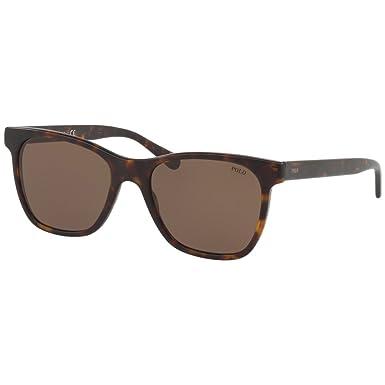 Polo Herren Sonnenbrille » PH4128«, braun, 560273 - braun/braun