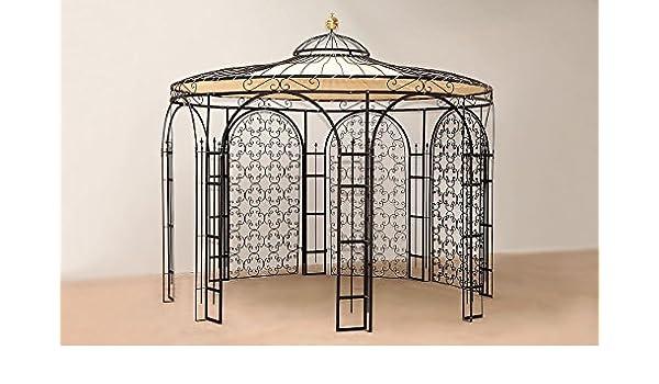 ELEO Pavillon Hierro Carpa para el jardín. En Macizo Fabricación ...