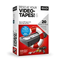 MAGIX Rescue Your Videotapes 6 (Anniversary Special incl. Photo Manager MX Deluxe)