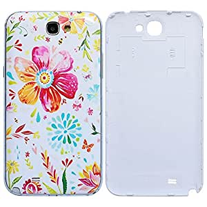 Bfun Packing Paniting Flower Floral Hard Battery Back Cover Case For Samsung Galaxy Note 2