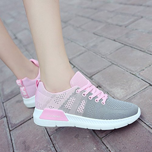 Shoes Outdoor snfgoij Shoes Recreation Shoes Comfort Travel Running Hiking Gray Girls Shoes Ladies Walking Breathable Lightweight qER1ABwR