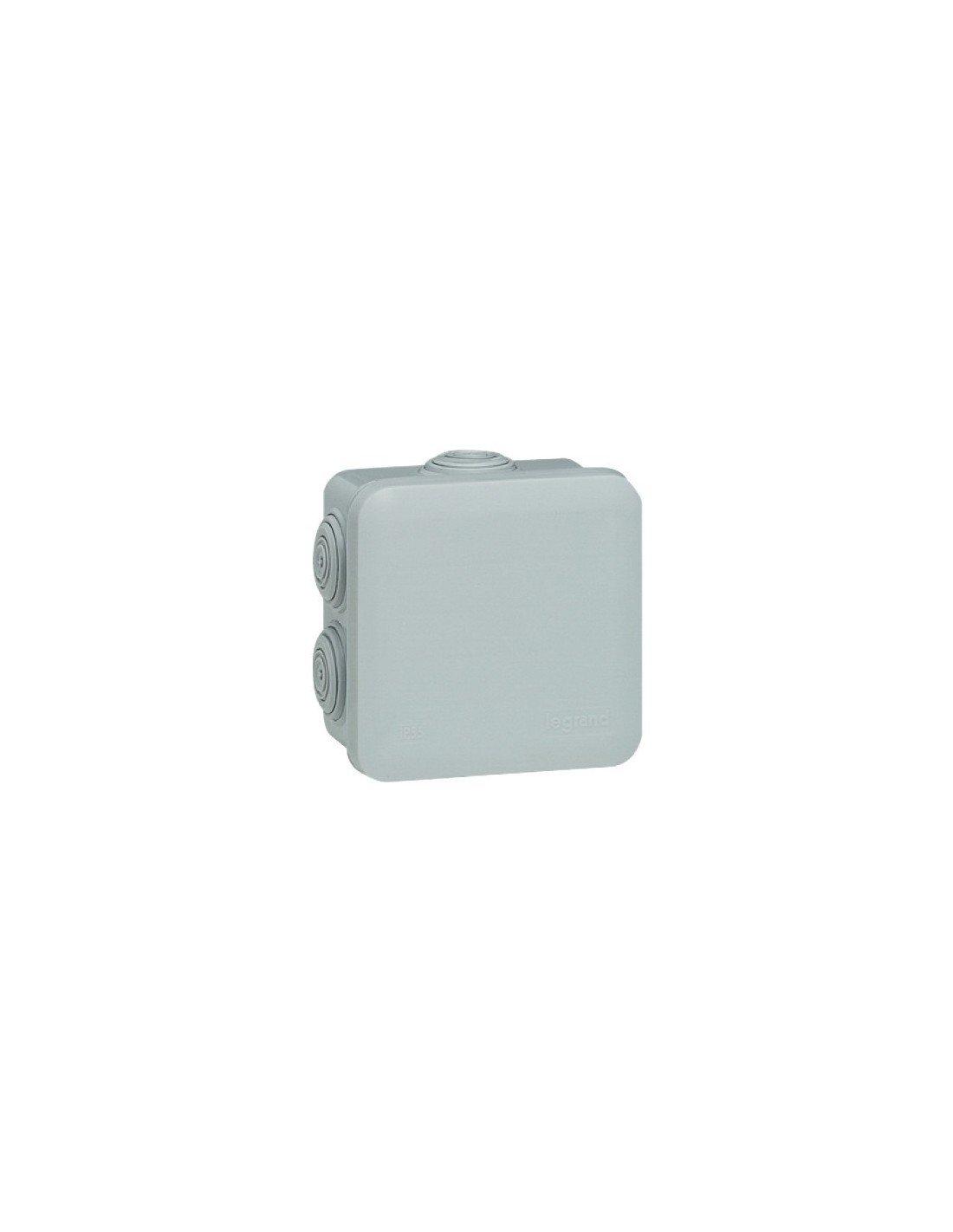 Legrand LEG94516 Square Junction Box Clip-On Fastening Grey 65 x 65 x 40 mm