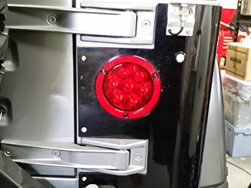 Jeep Wrangler 4 Quot Flush Mount Tail Lights 2 Lights