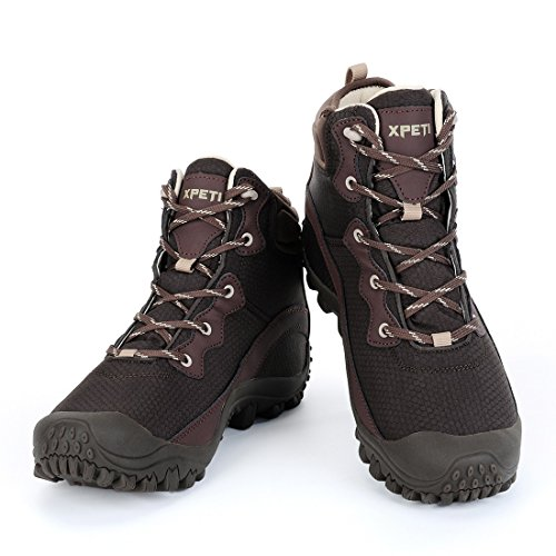 f87f4f8bc61 XPETI Men s Waterproof Mid Hiking Trail Outdoor Boot