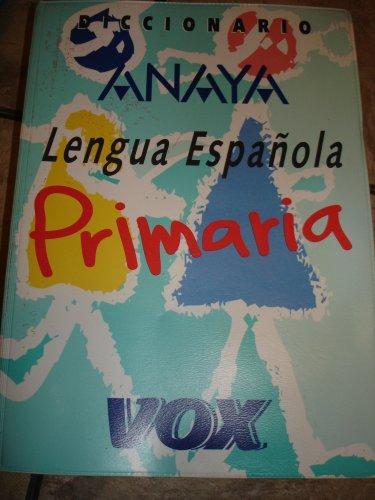 Diccionario: Lengua Espanola Primaria