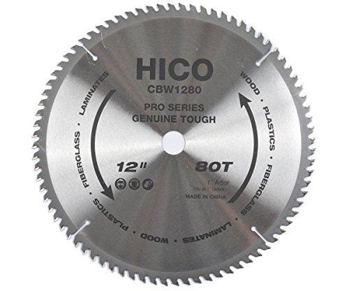80 Carbide Teeth (HICO 12