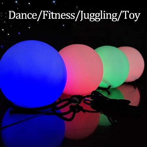 ジャグリングスローボール LED Poi ボール