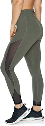 Rockwear Activewear Women's Fl Urban Mesh Tight from Size 4-18 for Full Length Ultra High Bottoms Leggings + Yoga Pants+ Yoga Tights