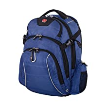Swiss Gear Rainproof Backpack for 17.3-Inch Notebook Computer, United States Carry-On, Royal Blue