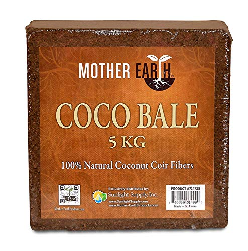 - Mother Earth Coco Bale | 5kg | 100% Natural Coconut Fiber