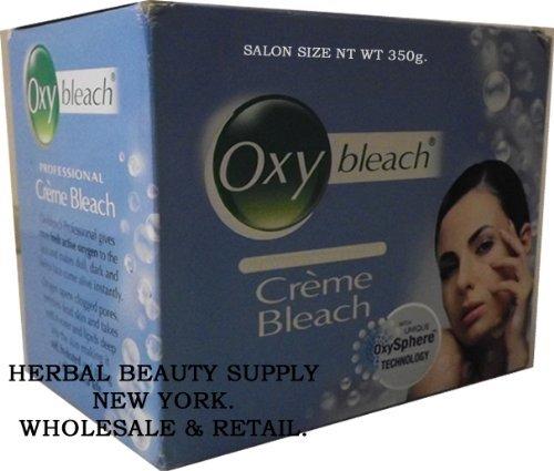 OXY BLEACH SALON SIZE PACK - PROFESSIONAL CREME BLEACH NET WT 350 gm by Oxybleach Dabur