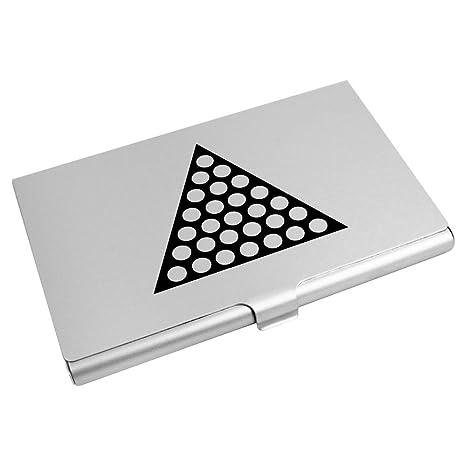 Azeeda Triangle Pointill Porte Carte De Visite Crdit CH00004415