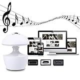 MKChung Mini LED Night Light, USB Charging LED Laptop Speaker Bedside Lamp for Children Room Decor
