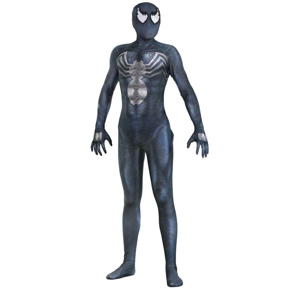 WEGCJU Venom Spiderman Costume Cosplay Strumpfhosen,A1-M
