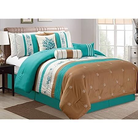 51wBDEajEBL._SS450_ Seashell Bedding and Comforter Sets