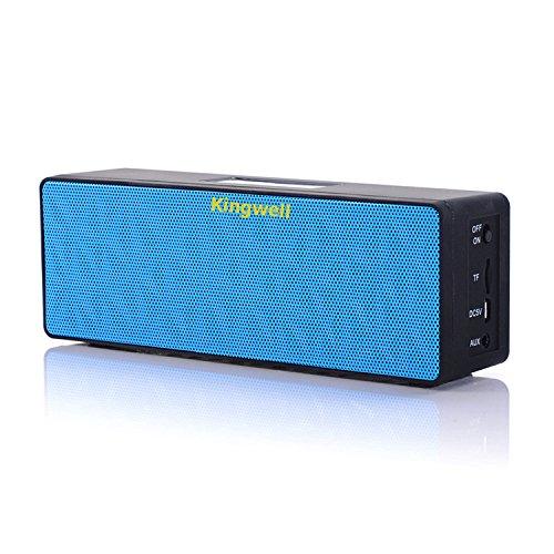 kingwell-n16-cubic-touch-screen-wireless-portable-bluetooth-speaker-blue