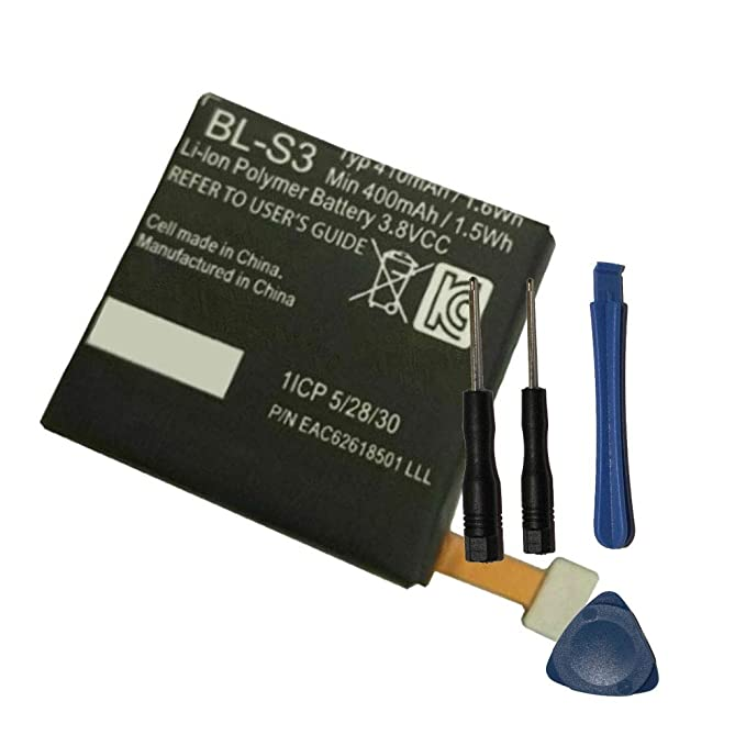 Amazon.com: Powerforlaptop Replacement Smartwatch Battery ...
