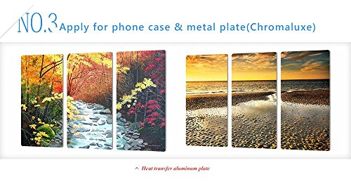 A-SUB Sublimation Paper 11x17 inch for All Inkjet Printer with Sublimation Ink,110 Sheets by A-SUB (Image #3)