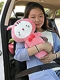 seemehappy Cute Plush Bunny Car Seat Belt Cover