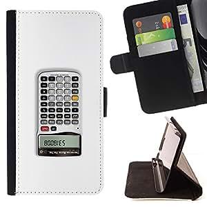 Momo Phone Case / Flip Funda de Cuero Case Cover - Calculator - LG G4c Curve H522Y (G4 MINI), NOT FOR LG G4