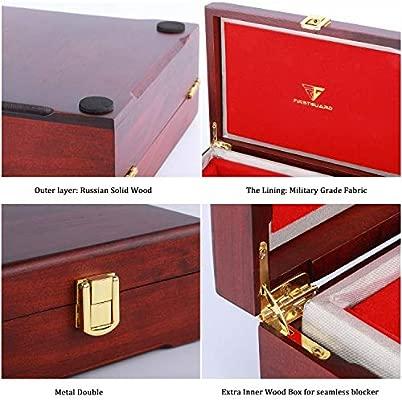 FirstGuard - Caja grande de Faraday para llaves de automóvil, caja de bloqueo de señal, caja de bloqueo de señal RFID, protector antirrobo para llavero (pequeño): Amazon.es: Coche y moto
