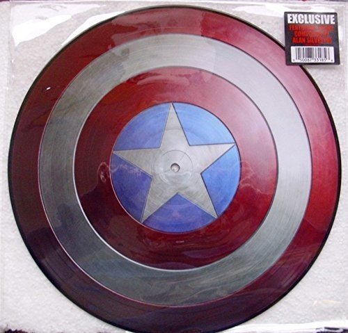 Music from Captain America: The First Avenger [LP Picture Disc] Captain America Vinyl