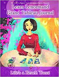 Learn Lenormand Grand Tableau Journal: Includes Two 8 x 8 x ...