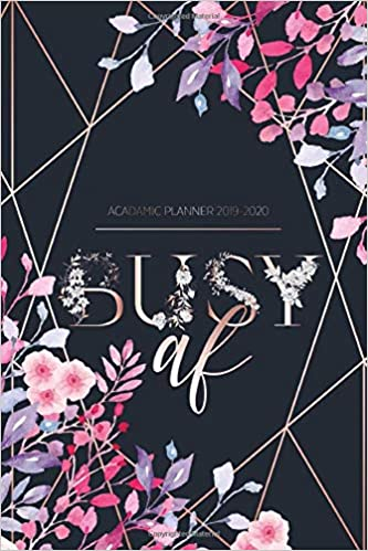 Amazon.com: 2019-2020 Academic Planner: College & School ...