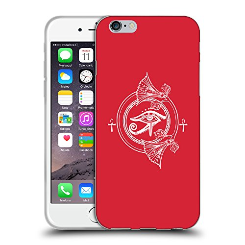 GoGoMobile Coque de Protection TPU Silicone Case pour // Q09880601 Religion 28 Alizarine // Apple iPhone 7