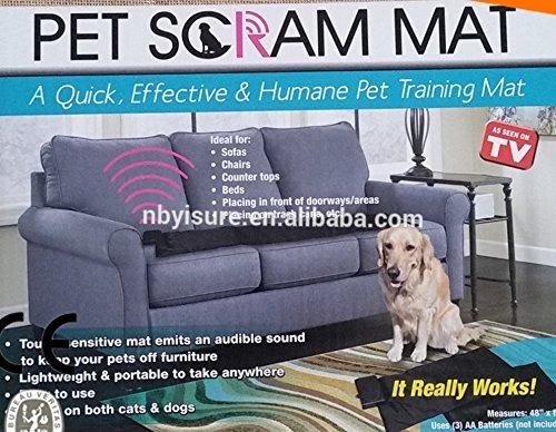 Pet Scram Mat Couch Sofa Bed Chair Dog Cat Training TV