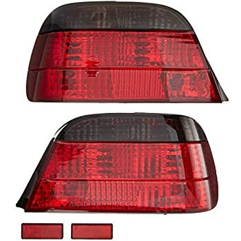 Amazon Com Spyder Auto Bmw E38 7 Series Red Clear Crystal Tail Light Automotive