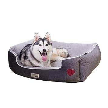lovecabin Colchon Ortopedico para Perros Sofa Cama 2 En 1 Antideslizante Cómodo Lavable para Gatos Y Perros Pequeños: Amazon.es: Hogar