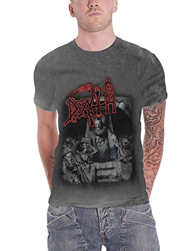 (Death 'Scream Bloody Gore' (Vintage Wash) T-Shirt - Ultrakult Clothing (extra)