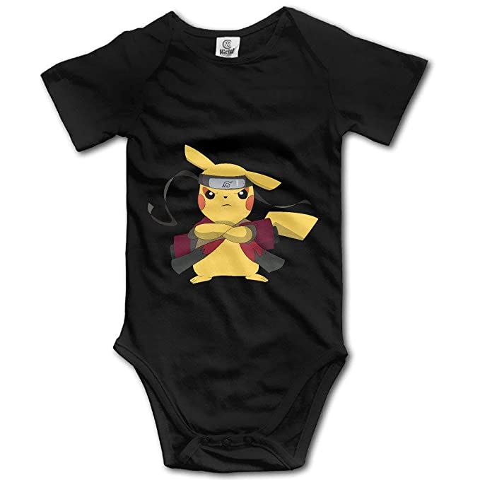 Pikachu Ninja Unisex Body de Mameluco de Manga Corta Trajes ...