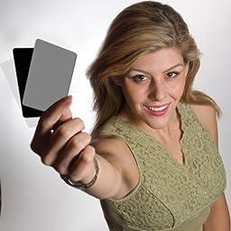 DGK Color Tools Optek Premium Reference White Balance Card Set- 3 Card Set- 3 Card Digital Color Correction Tool