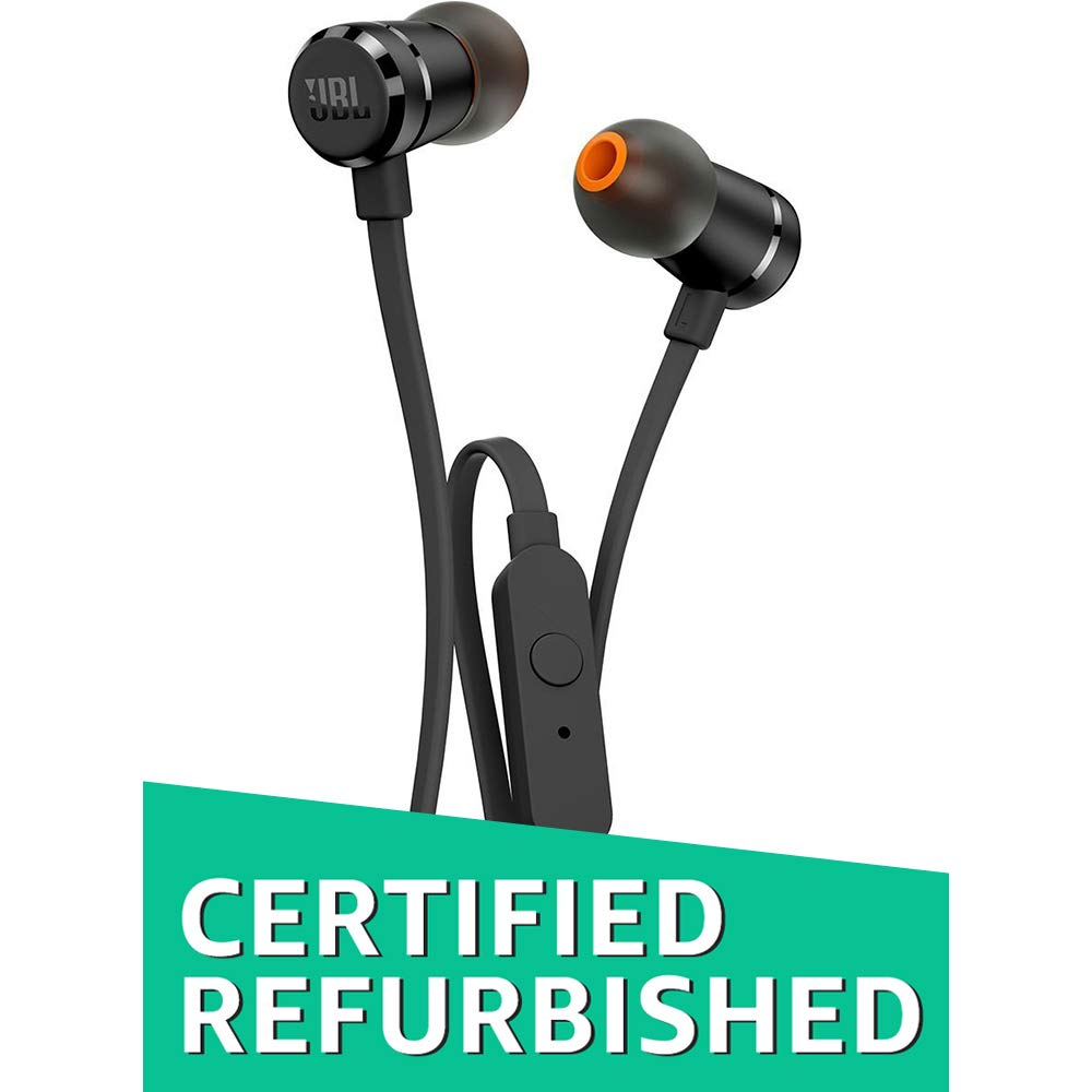 (CERTIFIED REFURBISHED) JBL T290 Pure Bass All Metal in-Ear