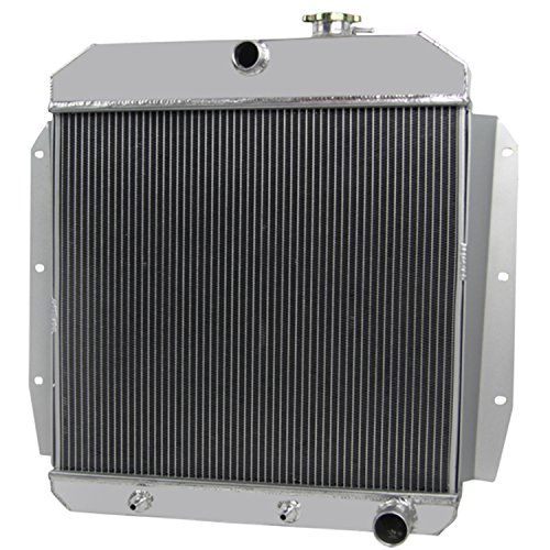 CoolingCare 4 Row Aluminum Radiator for 1955-59 Chevy& GMC Truck 3400 3500 3600 3800