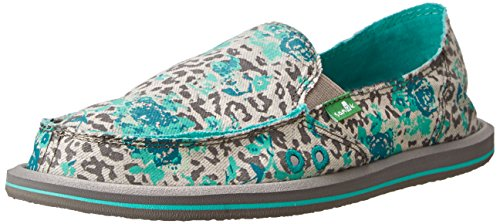 On Türkis Loafer Donna Mixed Grau Up Slip Womens Sanuk qXCnHH