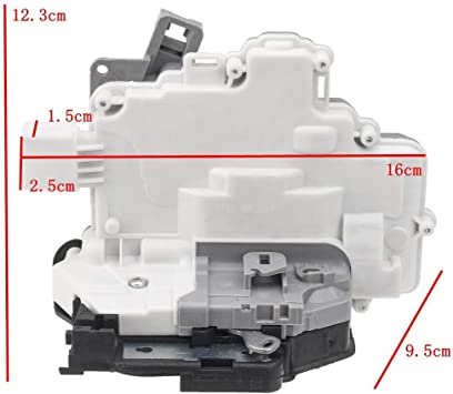 Amazon Com Ensun 3c4839015b Door Lock Latch Actuator Rear Left Driver Side 8 Pin Automotive