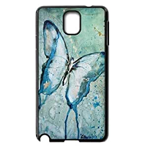 -ChenDong PHONE CASE- For Samsung Galaxy NOTE3 Case Cover -Butterfly - Flowers-UNIQUE-DESIGH 18
