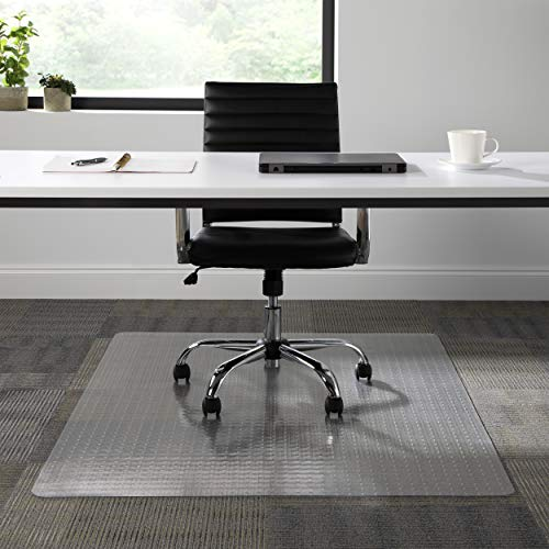 """Image of OFM ESS Collection Chair Mat for Low Pile Carpet, 46"""" X 60"""","""