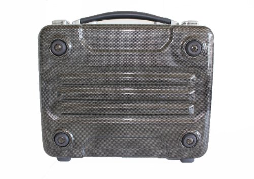 G-BRONCO Attache Case Briefcase 36Cm Onesize Carbon Black(14.1inch) by G-BRONCO