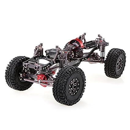 Amazon.com: Toy, Play, Game, RC Car 1/10 Racing CNC Metal Aluminum ...