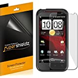 [6-Pack] SUPERSHIELDZ- High Definition Clear Screen Protector Shield For HTC Rezound + Lifetime Replacements Warranty [6 Pack] - Retail Packaging