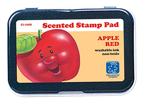 Educational Insights Red/Apple Scent Stamp Pad