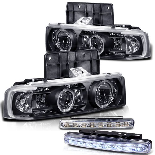 Chevy Astro Halo Headlights - 6