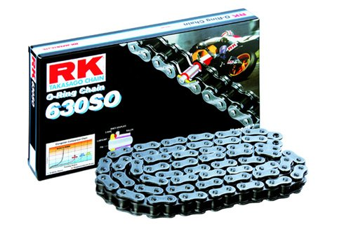 RK Racing Chain 630SO-110 110-Links O-Ring Chain with Connecting Link