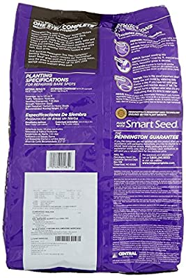 Pennington 100520284 One Step Complete Bare Spot Repair Grass Seed Mix for Dense Shade Areas, 8.3 lbs