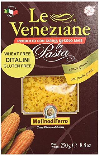 Le Veneziane Ditalini, 250-Gram Boxes (Pack of 6)